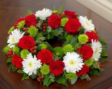 Cremation Wreath - Holiday Arrangement