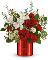 Crimson Crush Bouquet  Valentine