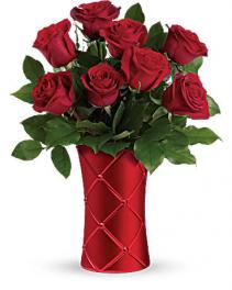 Crimson Luxury Bouquet Love & Romance, Anniversary, Valentines