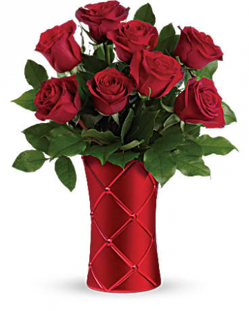 Crimson Luxury Bouquet Love & Romance, Anniversary, Valentines