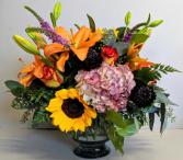 Crisp Autumn Centerpiece Fresh Floral Design