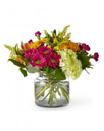 Crisp & Bright Bouquet Flower Arrangement