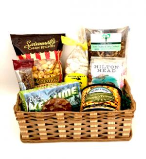 Crispy, Sweet, & Salty Gift Basket in Bluffton, SC | BERKELEY FLOWERS & GIFTS