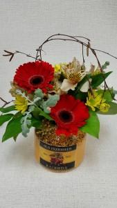 Crock of Flowers