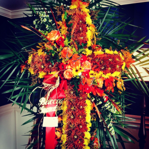 Cross Autumn cross in Ozone Park, NY | Heavenly Florist