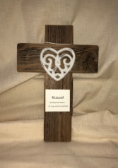 Cross Bereavement Gift  Custom