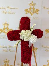 Cross Full of Roses Cross of Roses