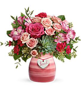 Cross My Heart Bouquet Valentine