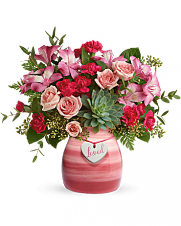 Cross My Heart Bouquet Arrangement
