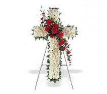 CROSS OF CHRIST STANDING SPRAY