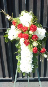 Cross Of Love Funeral Flowers