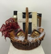 Crossroads Candle Basket Gift Basket