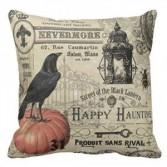Crow on Pumkin Pillow #31