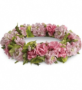 Crown of Soft Pinks Headpiece in Whitesboro, NY | KOWALSKI FLOWERS INC.