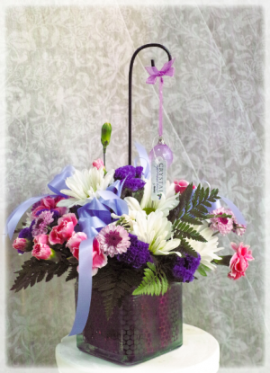 Crystal Bouquet  in Vincennes, IN | ORGAN FLORIST & GREENHOUSES