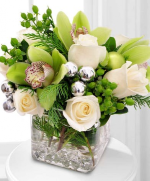 Crystal Clear Winter   in Oakville, ON | ANN'S FLOWER BOUTIQUE-Wedding & Event Florist