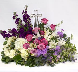 Crystal Cross Arrangement in Scarborough, ON | Florida Flowers