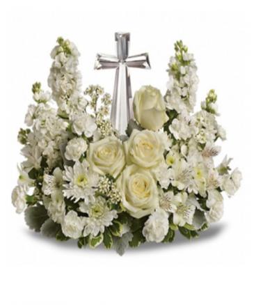 Crystal Cross Bouquet Best Seller