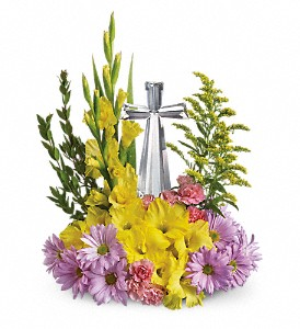Crystal Cross Bouquet T11E400A