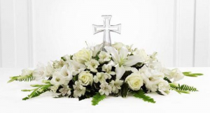 Crystal Cross Tribute  in Fredericton, NB | GROWER DIRECT FLOWERS LTD