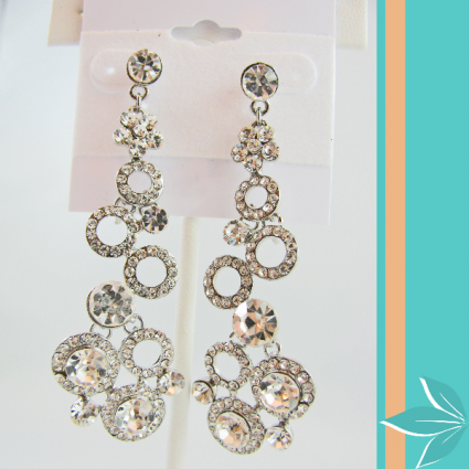 Crystal Drop Earings Crystal Jewelry
