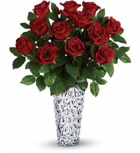 Crystal Heart Bouquet Arrangement