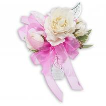 Crystal Pink Corsage