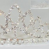 Crystal Tiara Headband Wedding Accessories