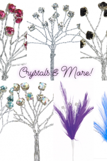 Crystals and More  Corsage