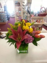 Lilies & Tulips Delight