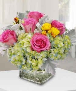 Cublic Flair  by Enchanted Florist