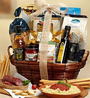 Cucina Rustica Bella Basket Gourmet Italian Gift Basket