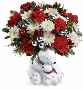 Cuddle Bears Winter Bouquet