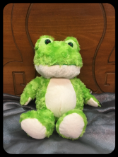 Cuddle Frog Plush