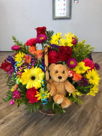 Cuddly Celebration  Bouquet