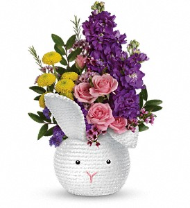 Cuddy Bunny Spring Bouquet in Whitesboro, NY | KOWALSKI FLOWERS INC.