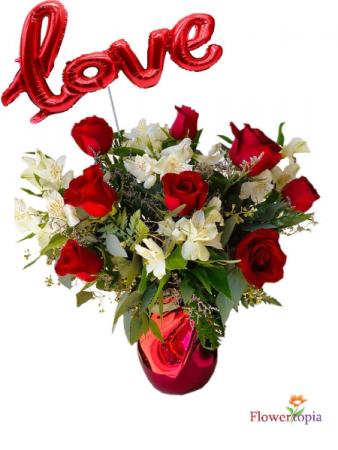 Cuore Lovely Flower Arrangement