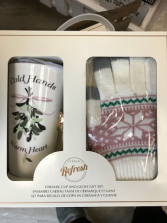 Cup and Glove Set