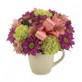 Cup bouquet