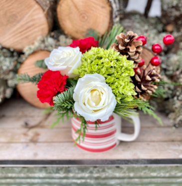 CUP O' CHEER fresh flowers