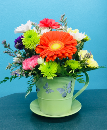 Cup o' Flowers
