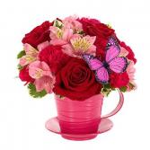 Cup Of Love Arrangement