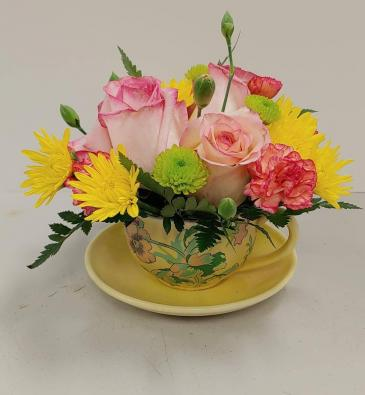 Cup of Love Mother's Day Arrangement