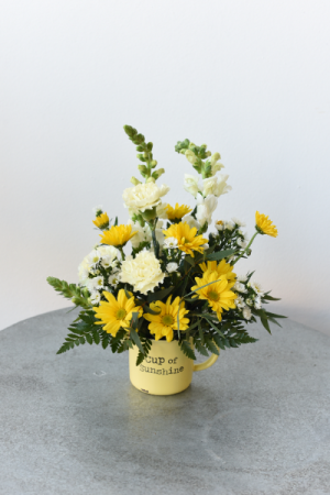 Cup of Sunshine  in La Grande, OR | FITZGERALD FLOWERS