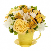 Cup Of Sunshine Arrangement