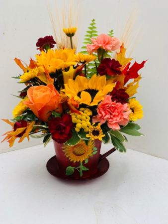 Cup of Sunshine Fresh Arrangement