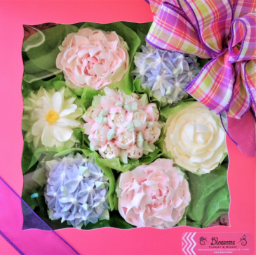 Cupcake Bouquet Sweet Blossoms
