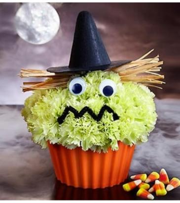 Cupcake in Bloom® - Witch Arrangement