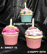 Cupcake keepsakes Birthday