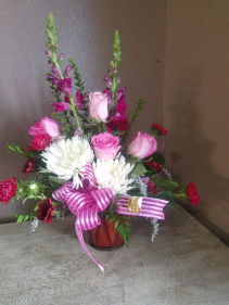 Cupid kiss Fresh arrangement